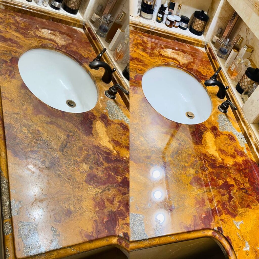 Marble Restoration, Repair, and Polishing in Florida